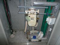 浄水器設置前