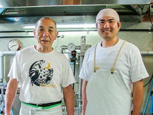 銚子市 榊原豆腐店 様がいい水で喜ぶ様子